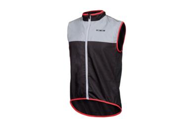 Odblaskowa kamizelka rowerowa WOWOW Dark Jacket 1.1 – czarny