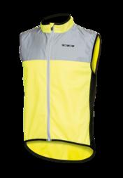 Odblaskowa kamizelka rowerowa WOWOW Dark Jacket 1.1 – fluorescencyjny żółty