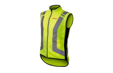 Odblaskowa kamizelka rowerowa WOWOW Flandrien - fluorescencyjny żółty