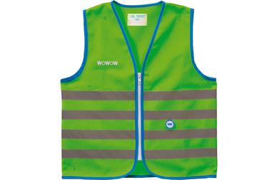 Odblaskowa kamizelka rowerowa WOWOW Fun Jacket - fluorescencyjny zielony