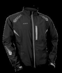 Odblaskowa kurtka rowerowa WOWOW Prodark - czarny