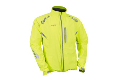 Odblaskowa kurtka rowerowa WOWOW Prodark - fluorescencyjny żółty