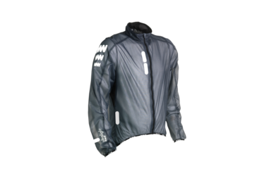 Odblaskowa kurtka rowerowa WOWOW Ultralight Supersafe - kolor granatowy