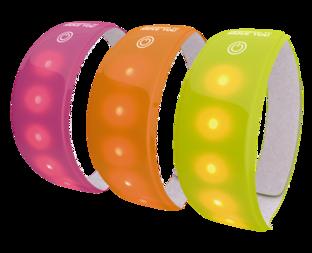 Odblaskowa opaska z diodami LED WOWOW Lightband