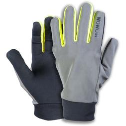 Odblaskowe rękawiczki rowerowe WOWOW Dark Gloves 2.0