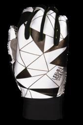 Odblaskowe rękawiczki rowerowe WOWOW Dark Gloves Urban Street – czarny