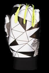 Odblaskowe rękawiczki rowerowe WOWOW Dark Gloves Urban Street – fluorescencyjny żółty