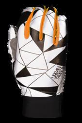 Odblaskowe rękawiczki rowerowe WOWOW Dark Gloves Urban Street – pomarańczowy