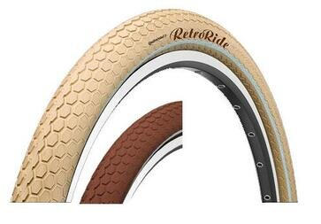 Opona Continental Retro Ride 26 x 2.0 (50-559) brąz lub krem
