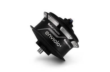 Piasta NuVinci N380 - pełny zestaw