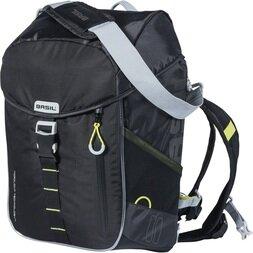 Plecak z możliwością montażu na bagażniku rowerowym Basil Miles LED