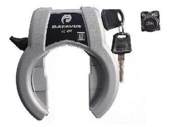 Podkowa Trelock RS420 + zamek do baterii roweru Batavus 2010
