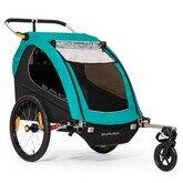 Podwójna przyczepka rowerowa dla dzieci Burley Encore X