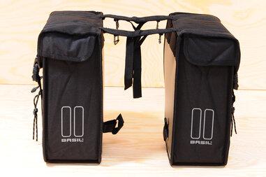 Podwójna sakwa rowerowa Basi Tour czarna