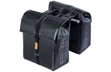 Podwójna sakwa rowerowa Basil Urban Dry Double Bag z adapterem MIK