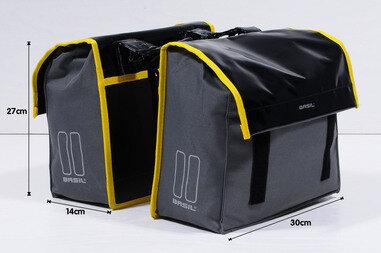 Podwójna sakwa rowerowa Basil Urban Load S Double Bag