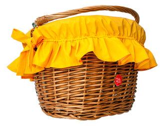 Pokrowiec na koszyk rowerowy BikeBelle Cover Basket - POWYSTAWOWY!