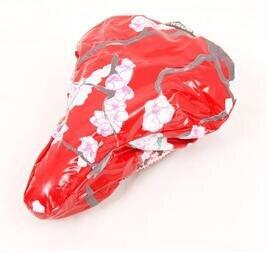 Pokrowiec na siodełko Basil BLOSSOM / czerwony