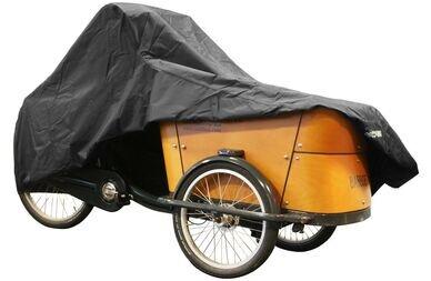 Pokrowiec na trójkołowe rowery transportowe DS Covers Cargo + namiot przeciwdeszczowy
