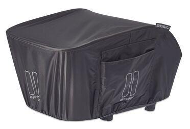 Pokrowiec przeciwdeszczowy Basil Keep dry Raincover na koszyk tylny