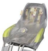 Pokrowiec przeciwdeszczowy na fotelik rowerowy  Qibbel
