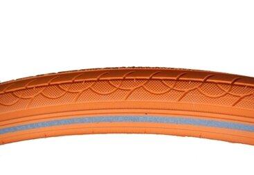 Pomarańczowa opona Deli 28 x 1 3/8 (37-622)