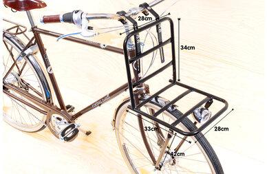 Przedni bagażnik rowerowy Basil Pick-up Front