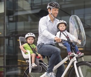 Przedni fotelik rowerowy HAMAX Caress Observer