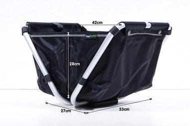 Przedni kosz rowerowy Yepp Cargo Flexx