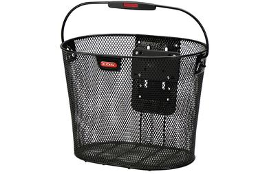 Przedni koszyk rowerowy KlickFix Oval Plus EF