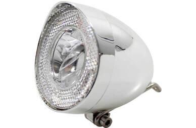 Przednia lampka Union retro na dynamo LED