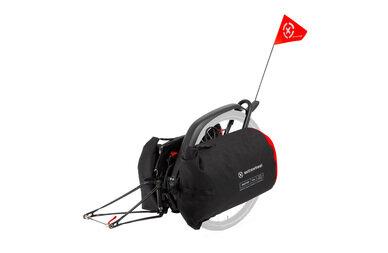 Przyczepka bagażowa Extrawheel Brave bez koła + torby Drifter Cordura