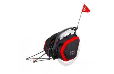 Przyczepka bagażowa Extrawheel Brave bez koła + torby Nomad Cordura