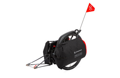 Przyczepka bagażowa Extrawheel Brave z kołem + torby Drifter Cordura