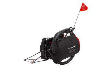 Przyczepka bagażowa Extrawheel Brave z kołem + torby Drifter Poliester