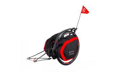 Przyczepka bagażowa Extrawheel Brave z kołem + torby Nomad Cordura