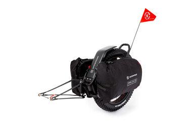 Przyczepka bagażowa Extrawheel Mate 26 + sakwy Drifter Polyester