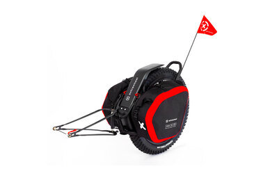 Przyczepka bagażowa Extrawheel Mate 26 + sakwy Nomad Cordura