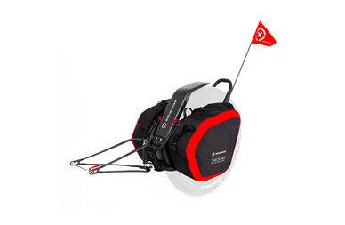Przyczepka bagażowa Extrawheel Mate bez koła + sakwy Nomad Cordura