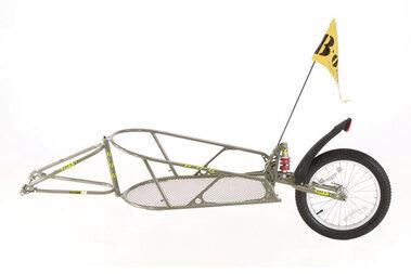Przyczepka rowerowa Bob Ibex 28 bez sakwy