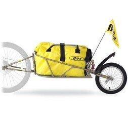 Przyczepka rowerowa Bob Ibex 28 + sakwa