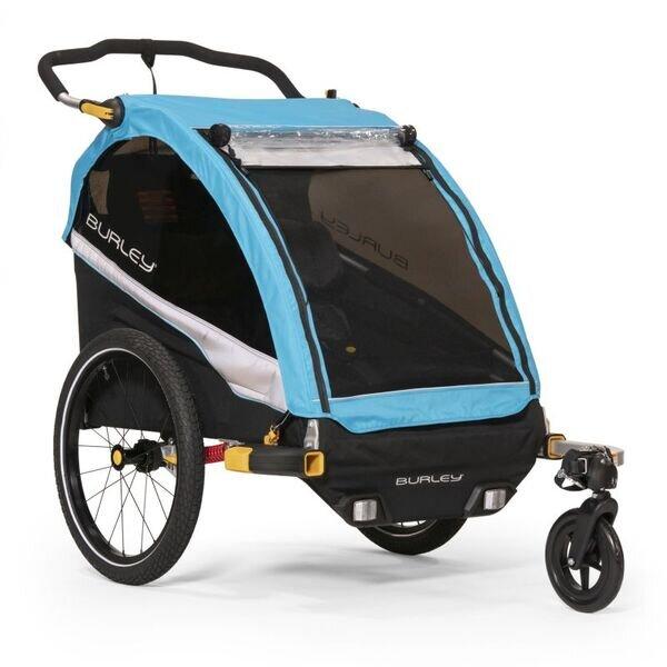 Przyczepka rowerowa dla dzieci D'lite x AQUA