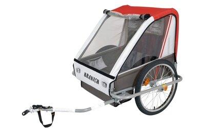 Przyczepka rowerowa dla dzieci Kranich 66021L