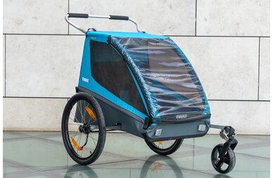 Przyczepka rowerowa dla dzieci Thule Coaster XT