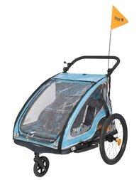 Przyczepka rowerowa dla dzieci Yepp Duo