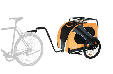 Przyczepka rowerowa dla psa Doggyride Novel15 Limited Edition