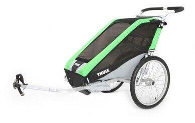 Przyczepka rowerowa Thule Chariot Cheetah 1 zielony