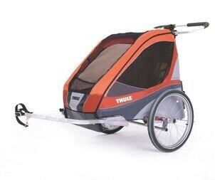 Przyczepka rowerowa Thule Chariot Corsaire 2 + CTS rower