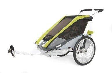 Przyczepka rowerowa Thule Chariot Cougar 1 awokado + CTS rower