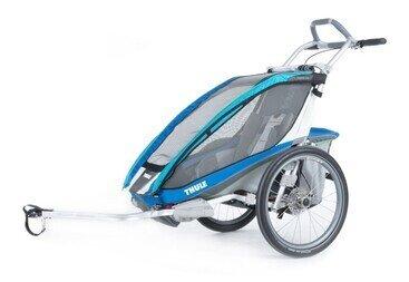 Przyczepka rowerowa Thule CX1 + zestaw rower